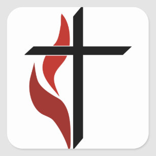 methodist cross and flame gifts on zazzle rh zazzle com cross and flame logo umc cross and flame logo to download pdf