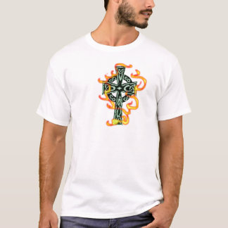 Flaming Cross T-Shirt