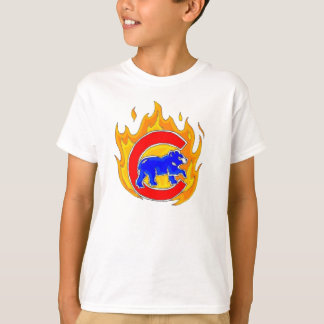 Flaming Cubbie - Winner 04.27.09 T-Shirt