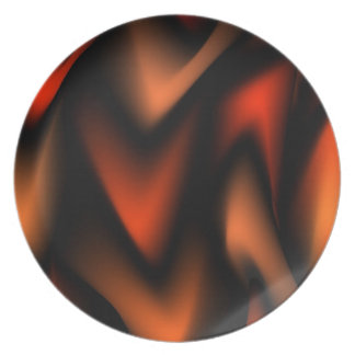 FLaming Design Party Plate