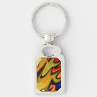 Flaming Desire Rainbow Keychain