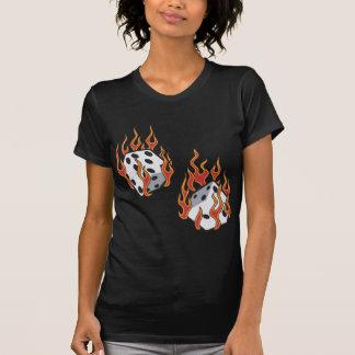 Flaming Dice T-Shirt