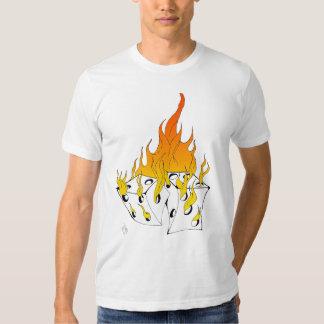 Flaming Dice Tshirt