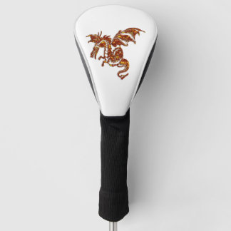 Flaming Dragon Golf Head Cover