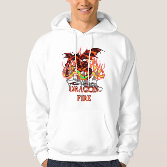 Flaming Dragon Hoodie