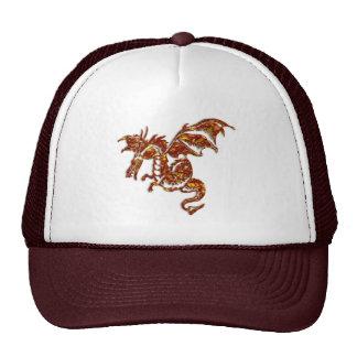 Flaming Dragon Trucker Hat
