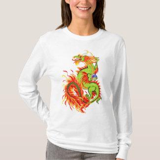 Flaming Dragon with Symbol Shirts