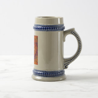 Flaming Dragonfly Beer Stein