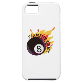 Flaming Eight iPhone 5 Cover