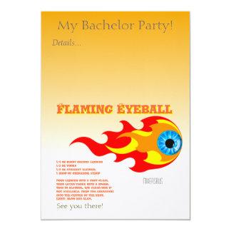 Flaming Eyeball Drink Recipe Card