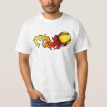 Flaming Fastpitch Softball T-Shirt
