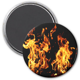 Flaming Fire Burning Magnetic Gifts Magnet