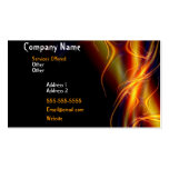 FLAMING FIRE BUSINESS CARD 2