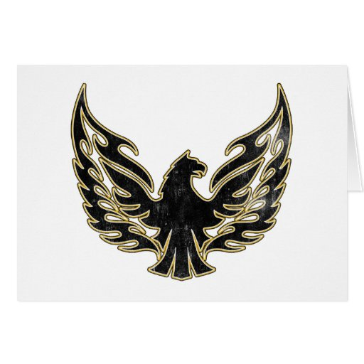 Flaming Firebird Card