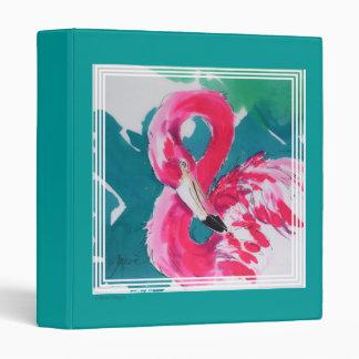 Flaming Flamingo Art Print Photo Album Binder