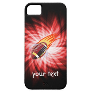 Flaming Football; Red iPhone 5 Cover