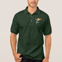 Flaming Head Polo Shirt