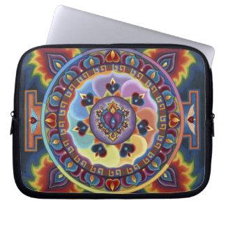Flaming Heart Lap Top Sleeve Laptop Sleeve