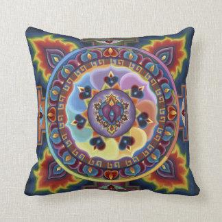 Flaming Heart pillow