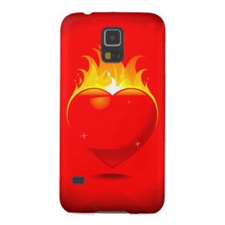 Flaming HeartDesign Samsung Galaxy S5 Galaxy S5 Cover