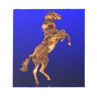 Flaming Horse Spirit,Gifts Notepad