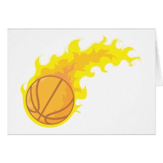 Flaming Hot Basketball Card