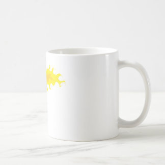 Flaming Hot Basketball Coffee Mug