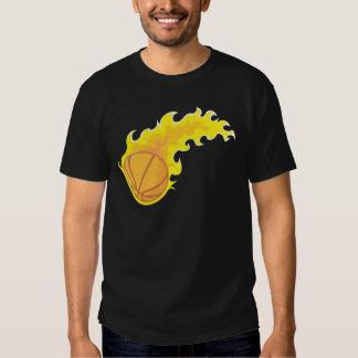Flaming Hot Basketball T-Shirt