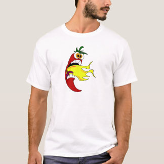 Flaming Hot Pepper T-Shirt