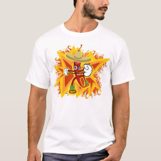 Flaming HOT Zaboom Style T-Shirt