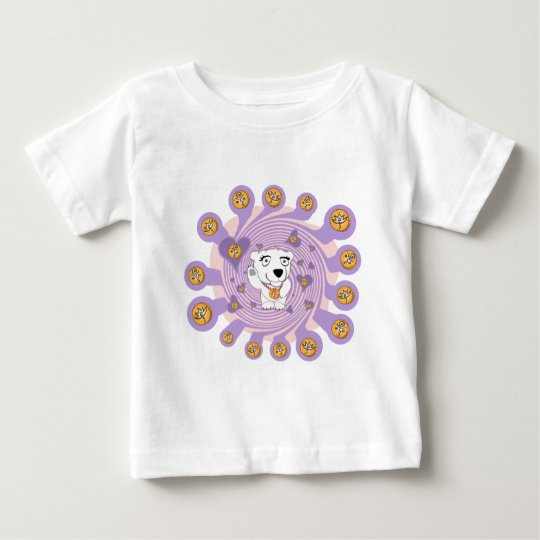 Flaming Igloo Animated Polly Love Alive Baby T-Shirt