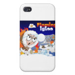 Flaming Igloo Game Image iPhone 4 Covers
