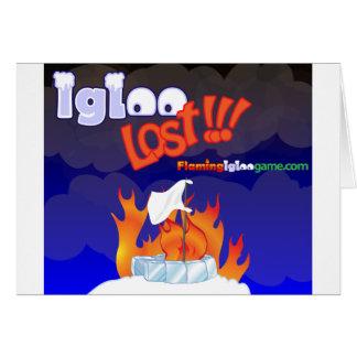 Flaming Igloo Lost Card