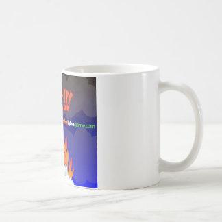 Flaming Igloo Lost Coffee Mug