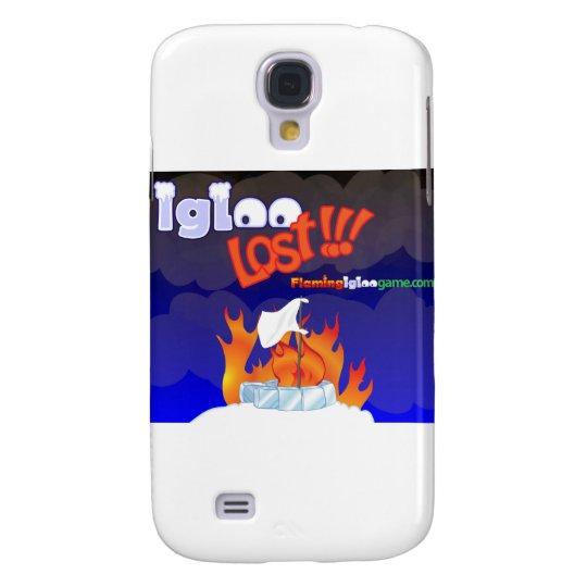 Flaming Igloo Lost Samsung Galaxy S4 Case