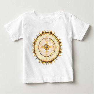 Flaming Igloo Love Symbol Totem Baby T-Shirt