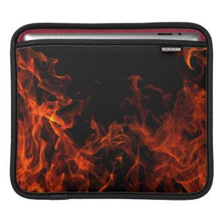 Flaming Ipad Case iPad Sleeves