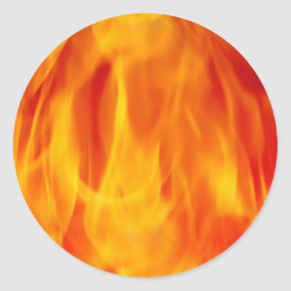 Flaming Jaw Breaker Sticker
