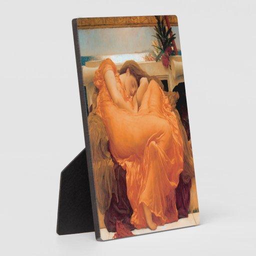 Flaming June (1895) - Plaque