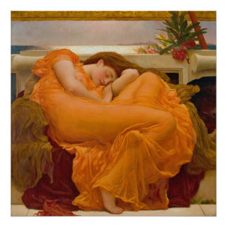 Flaming June 1895 Poster