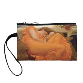 Flaming June by Frederic Leighton Coin Wallet