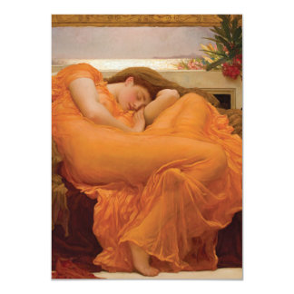 Flaming June by Frederic Leighton Personalized Announcements