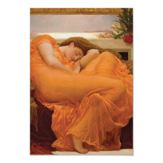 Flaming June by Frederic Leighton Personalized Invitation Card