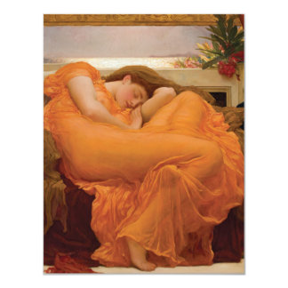 Flaming June by Frederic Leighton Custom Announcements