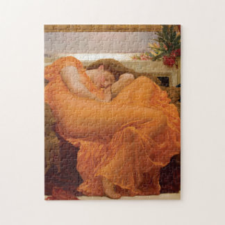 Flaming June by Frederic Leighton Jigsaw Puzzle