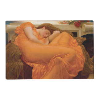 Flaming June by Frederic Leighton Laminated Place Mat