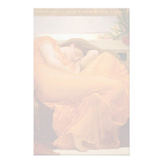 Flaming June by Frederic Leighton Stationery