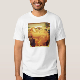 Flaming June by Frederic Leighton T Shirt
