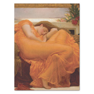Flaming June by Frederic Leighton Tissue Paper