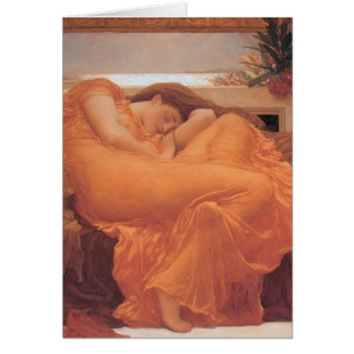 Flaming June by Frederick Leighton Card